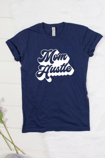 Mom Hustle Short Sleeve Shirt