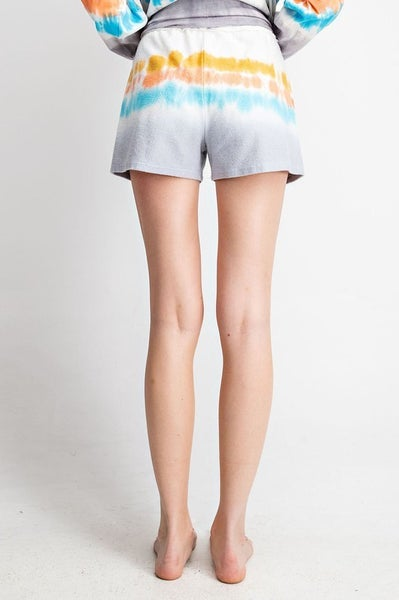 Party Central Tie Dye Shorts *Final Sale*