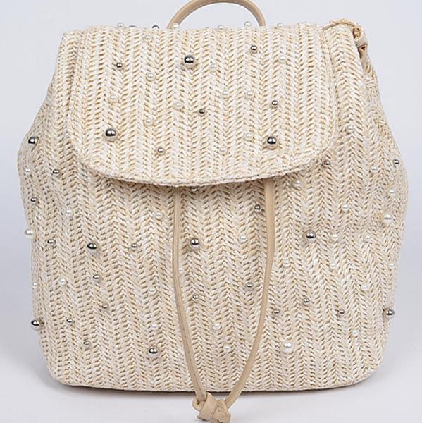 Pearl & Straw Backpack
