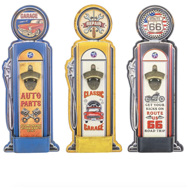 Garage Gas Pump Bottle Opener