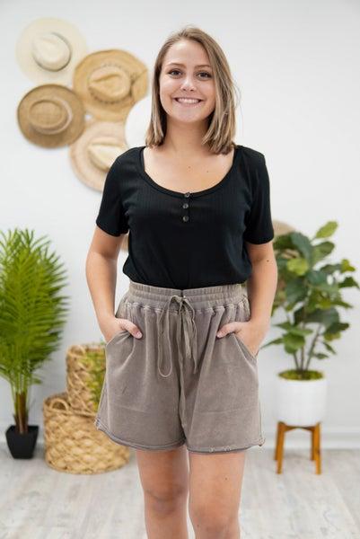 Mineral Wash Comfy Shorts
