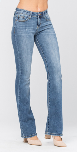 Judy Blue Mid-Rise Boot Cut Jeans