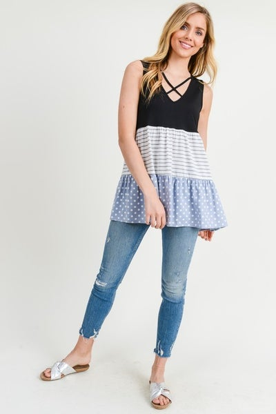 Ruffle My Style Top *Final Sale*