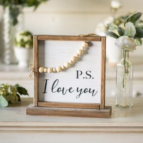 PS I Love you Sign