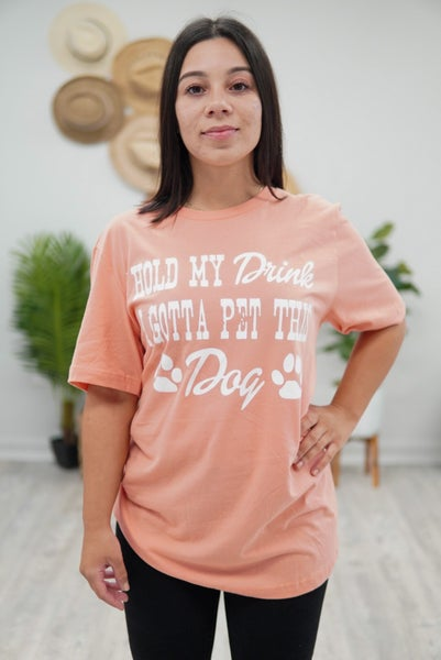 Drinks and Dogs Graphic Tee