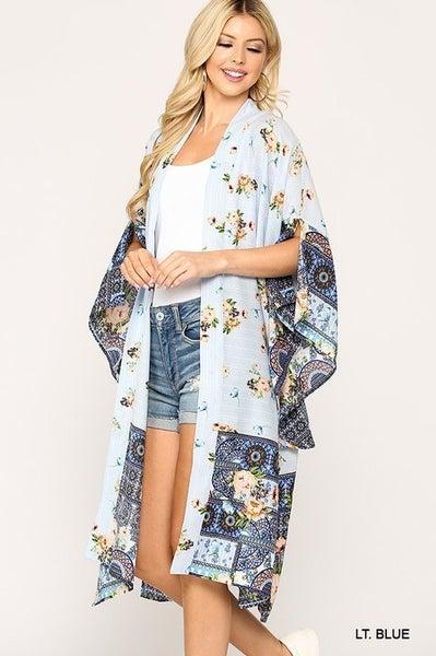 Faded Love Kimono