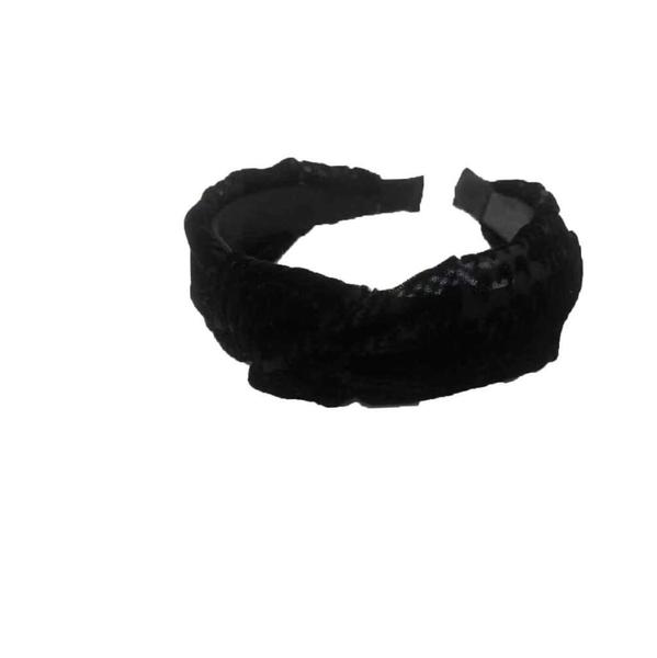 Got Me In Knots Velvet Headband