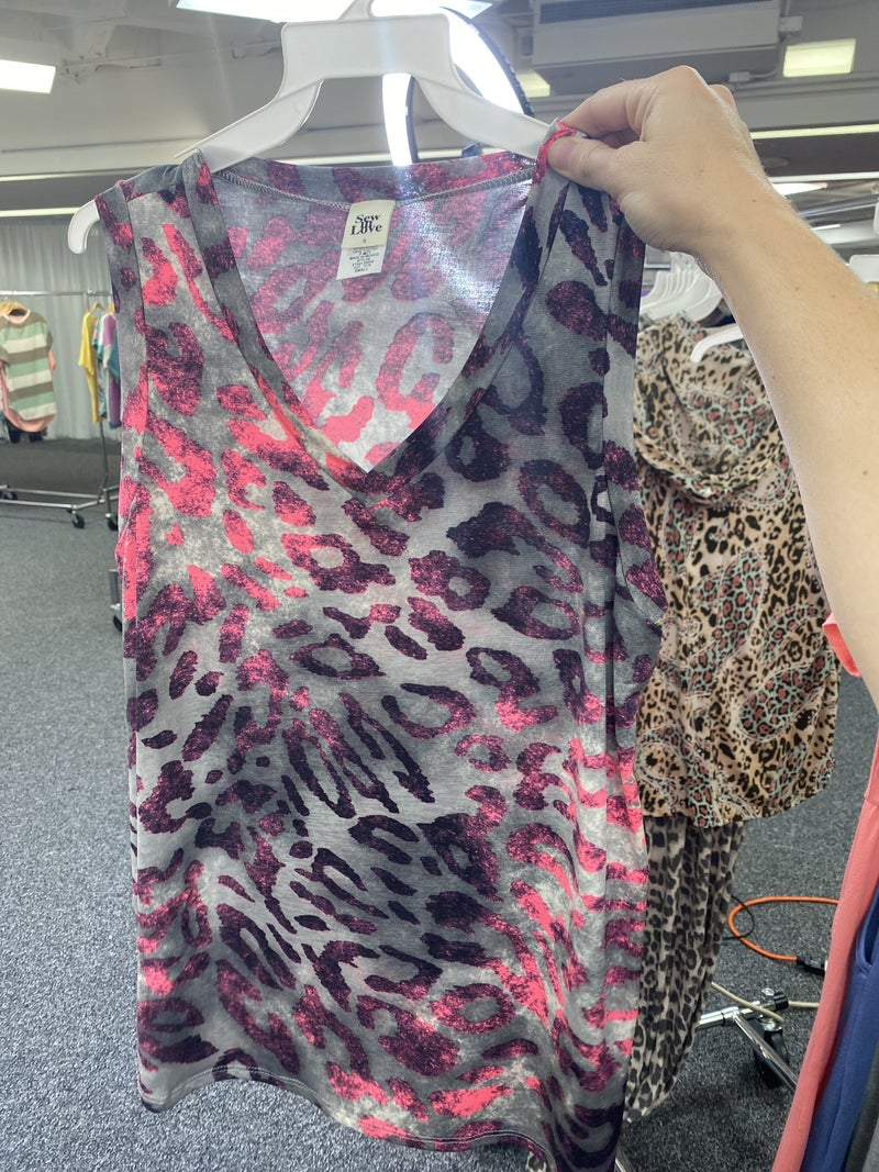 Touch Of Pink Catimal Tank