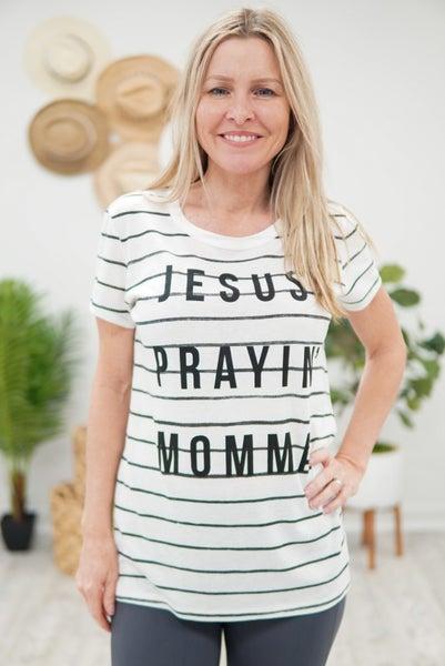 Jesus Prayin Momma