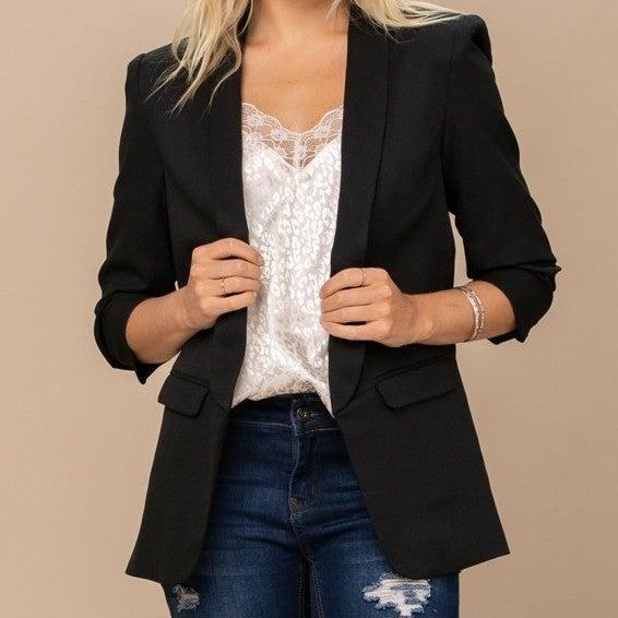 Smart Dressed Lady Blazer