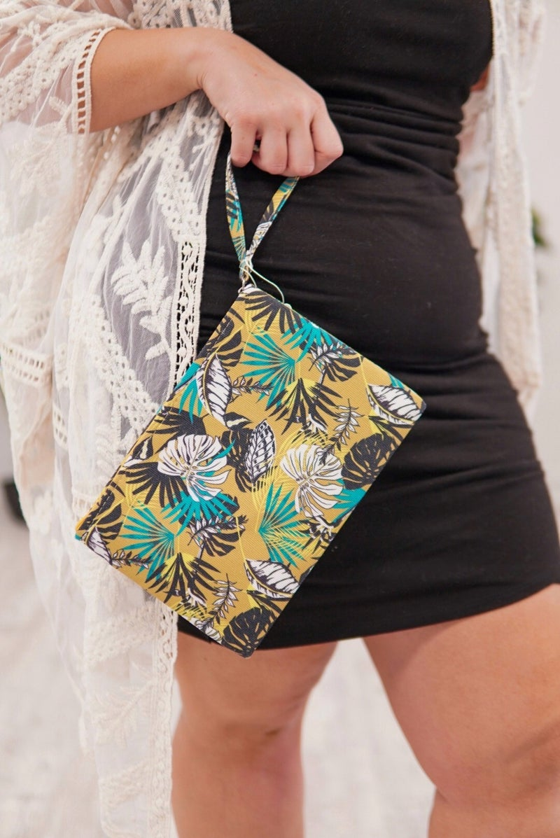 Tropical Vibes Cosmetic Bag