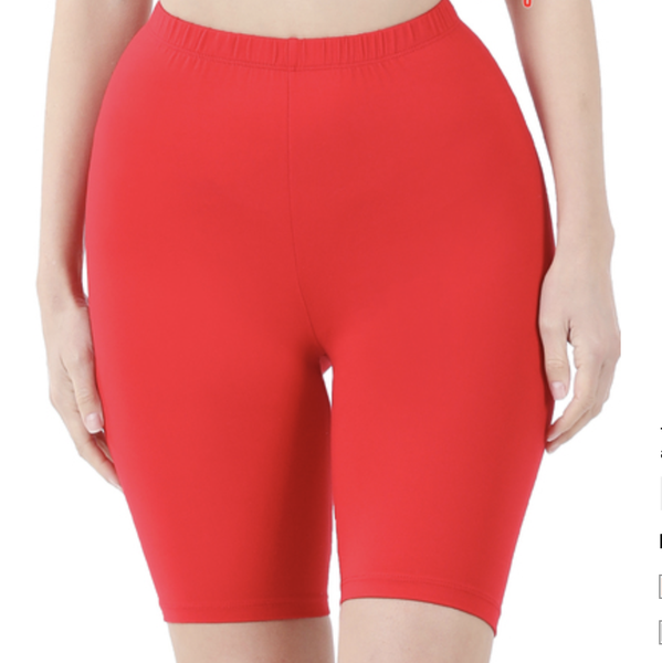 Biker Babe Microfiber Shorts