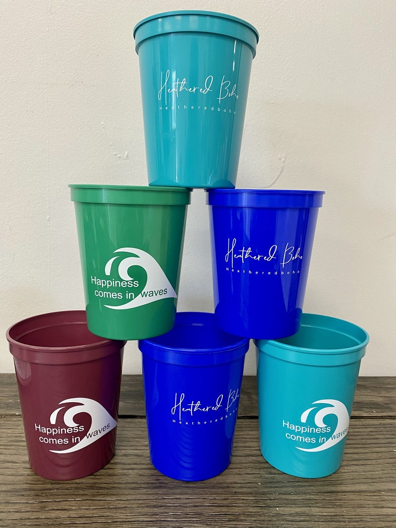 Heathered Logo Stadium Cups - MYSTERY PACK OF 3