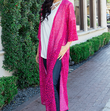 All About The Chase Kimono