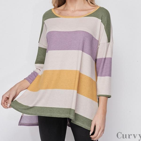 Fall Stripes & Spring Dreams Top