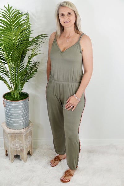 Athletic Style Jumpsuit *Final Sale*