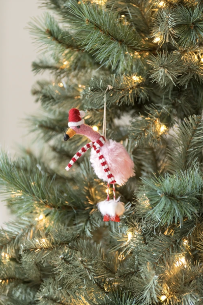 Hand-crafted Wool Christmas Ornaments