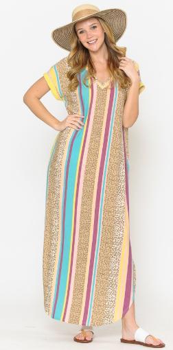 Leopard Love Dress *Final Sale*