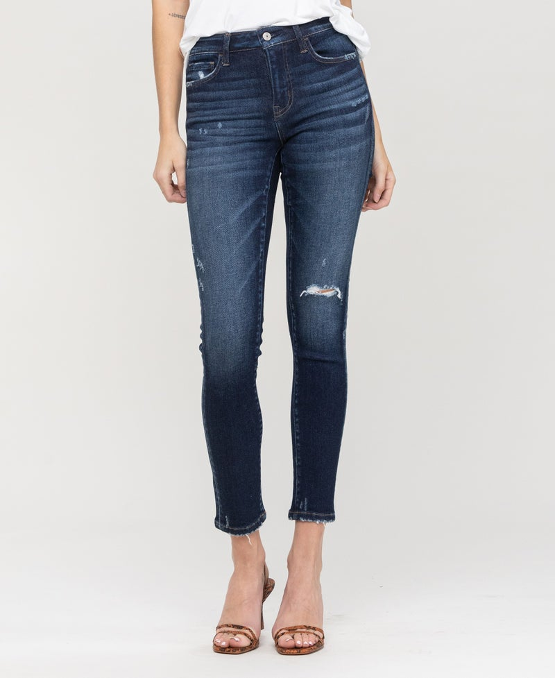 TAKEOVER- Attraction Mid Rise Jeans