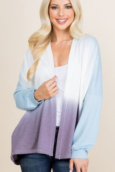 Dip Dyed Beauty Cardigan
