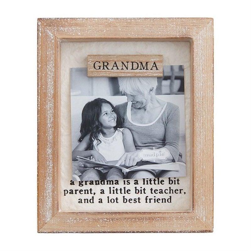 Grandma Magnet Wood Frame