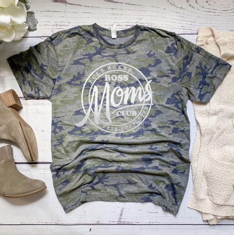Boss Moms Club Tee