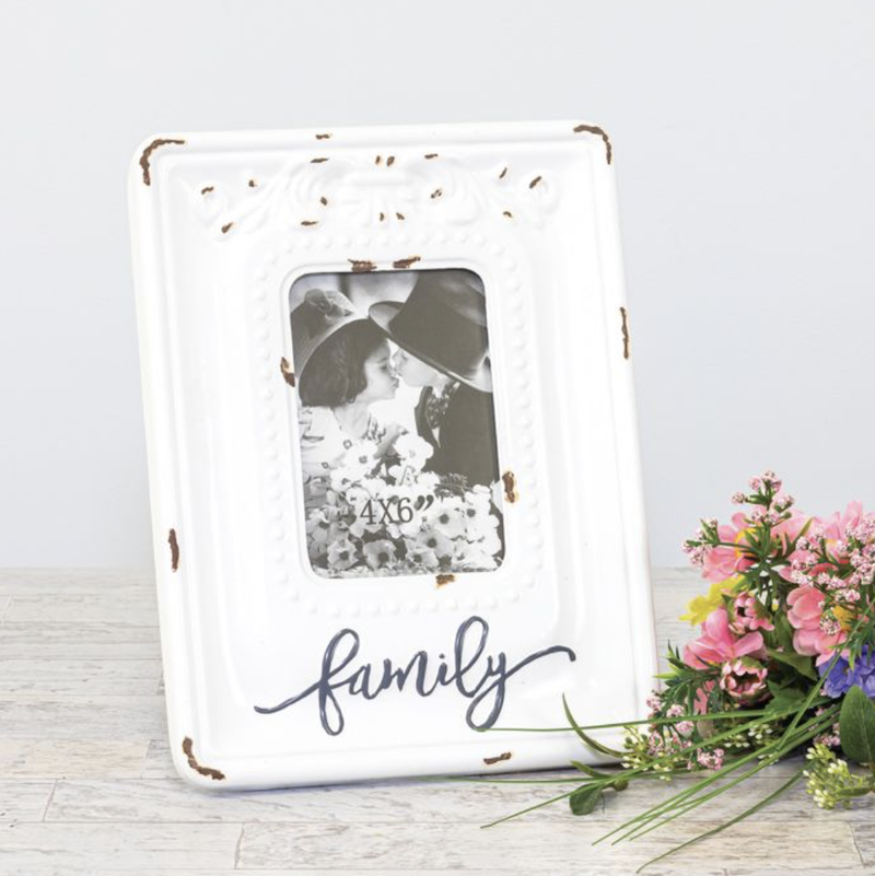 Rustic Family Photo Frame