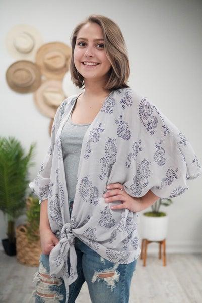 Paisley Galore Kimono