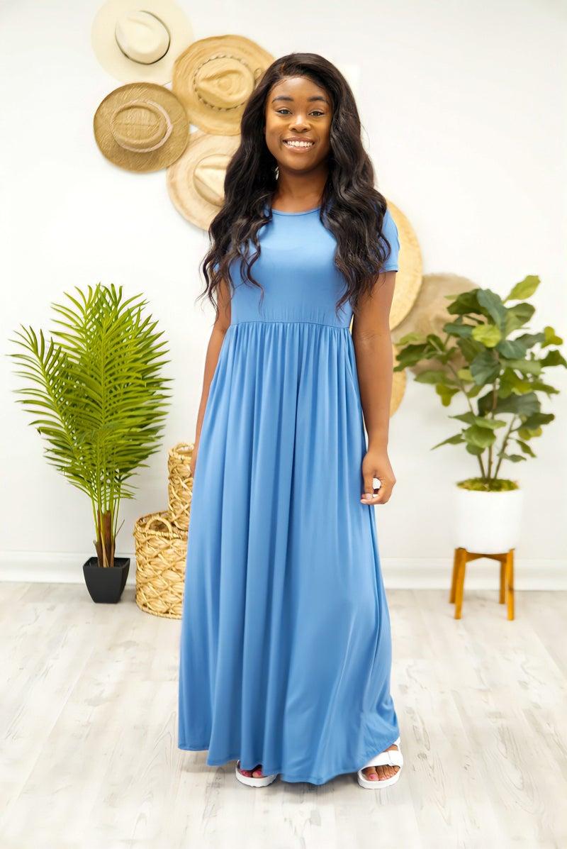 We Love A Solid Maxi Dress