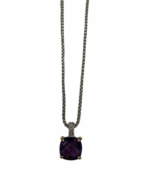 Purple Is My Color Necklace
