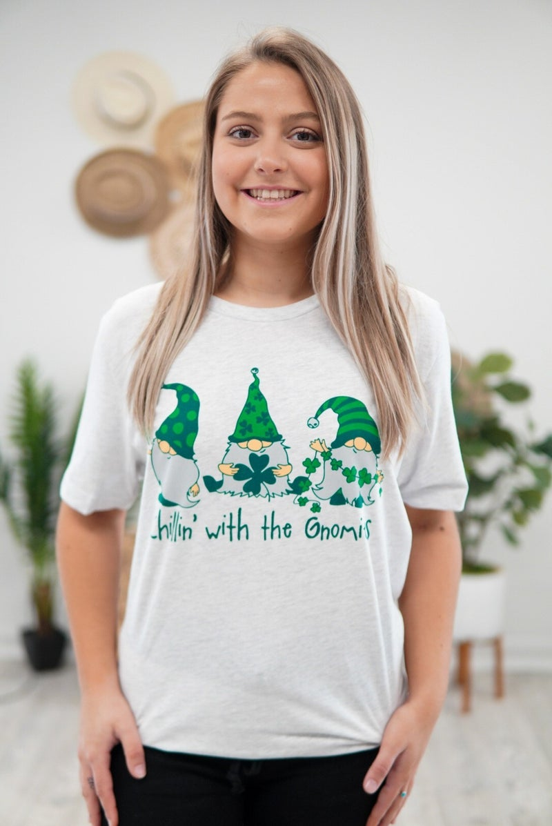 Kids Chillin' With My Gnomies Tee