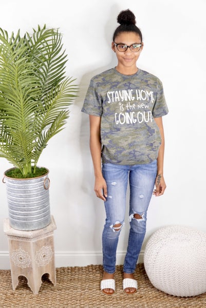 Staying Home Graphic Tee