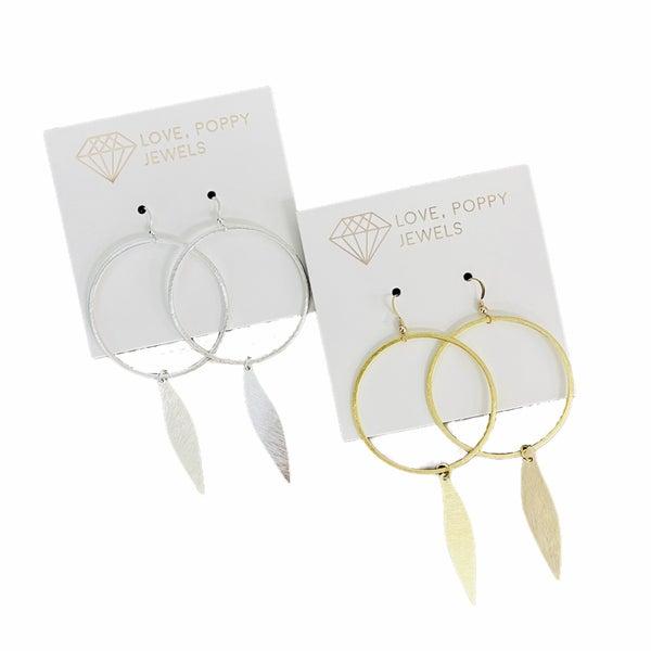 Circle Wave Earrings