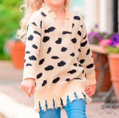 Cookies & Cream Kids Sweater