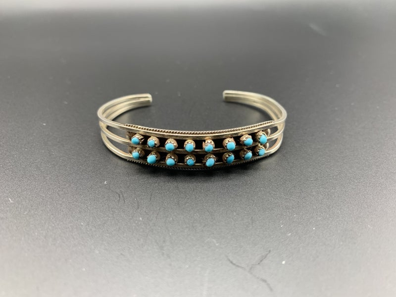 M&S Dotted Turquoise Bangle
