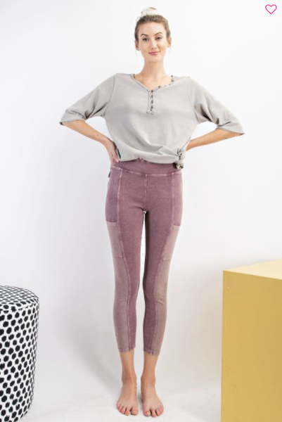 Pace Yourself Paneled Leggings