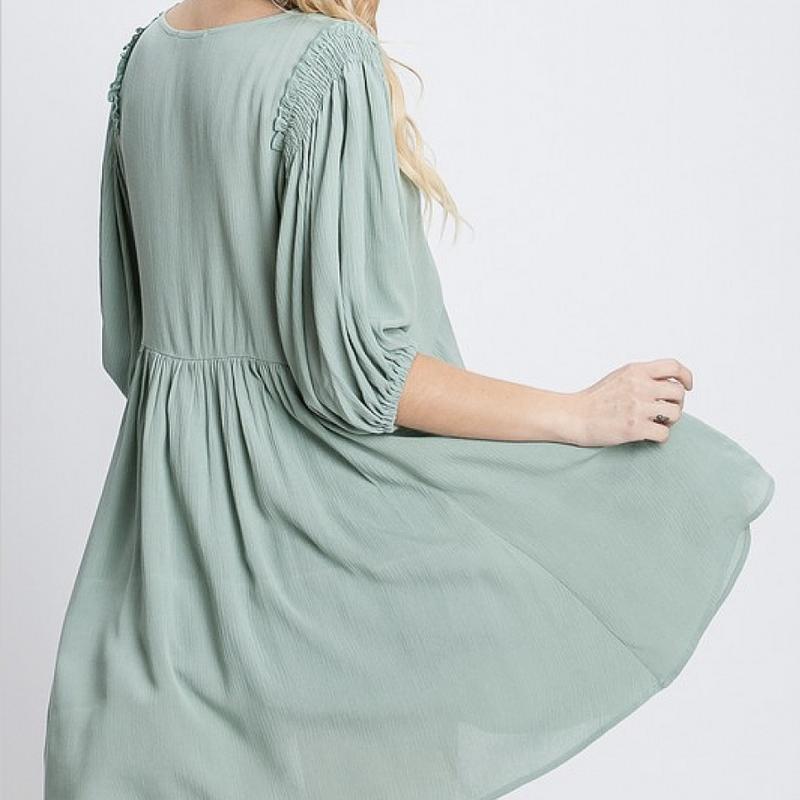 Sweet Summertime Flowy Dress