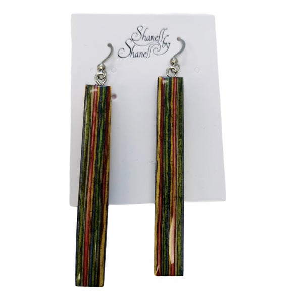Rainbow Rectangle Dangles