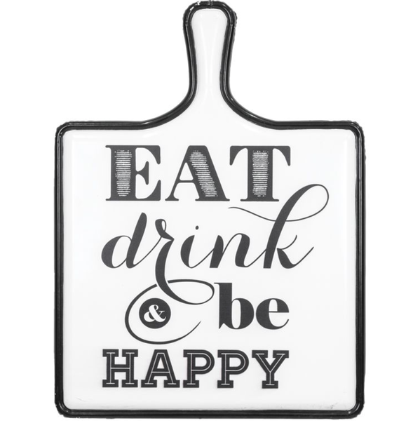 Eat, Drink, & Be Happy Wall Art