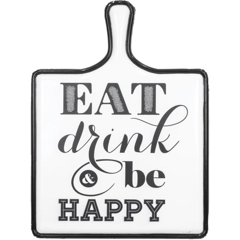 Eat, Drink, & Be Happy Wall Art