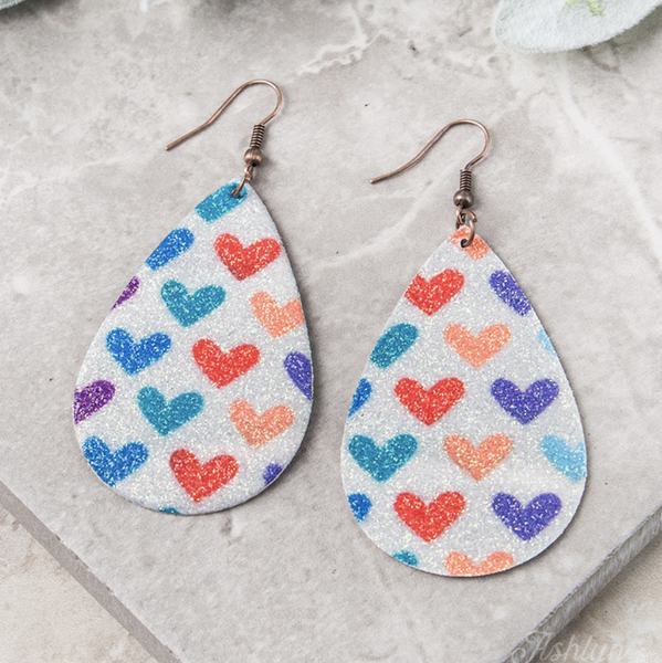 Full Heart Earrings