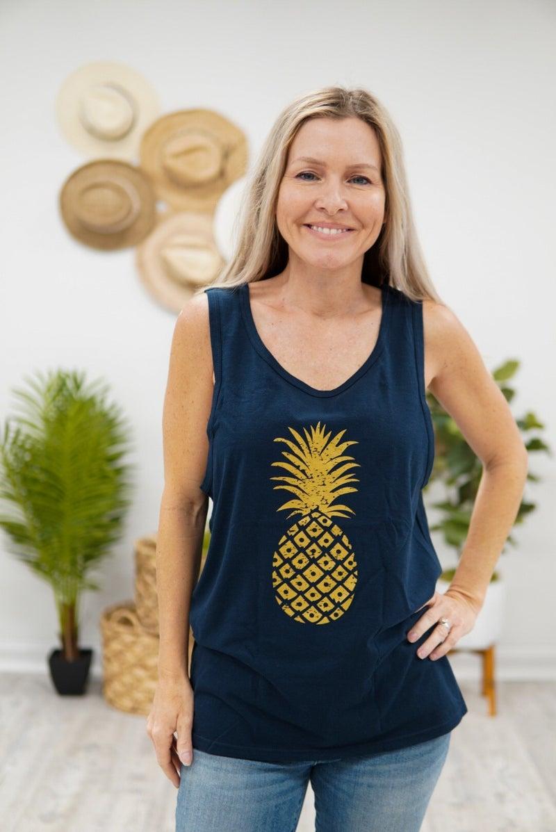 Pineapple Vibes Tank