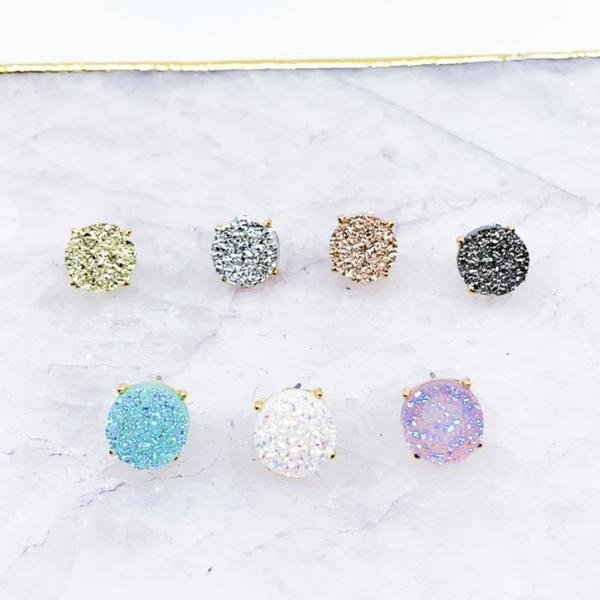 Sparkle Queen Stud Earrings