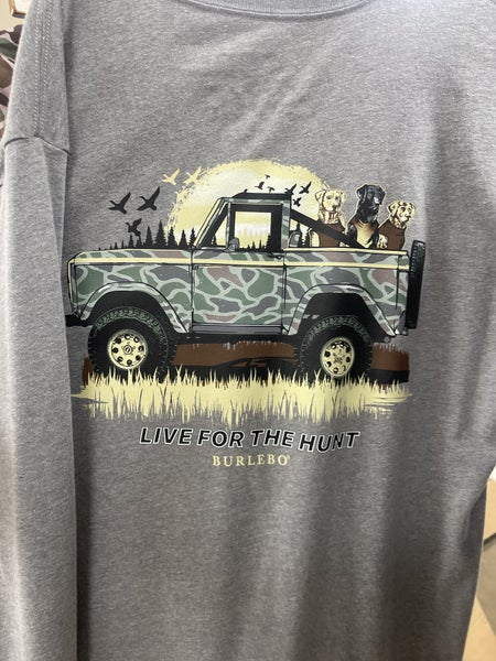 Burlebo Live For The Hunt Tee