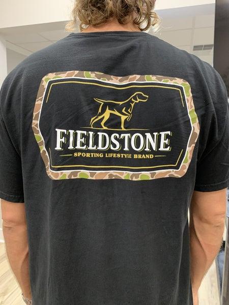 Fieldstone Camo Logo Tee