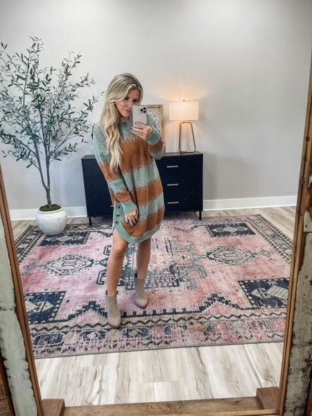 The Best Ever Sweater Dress