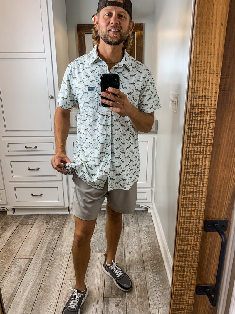 Fish and Reel Men's Button Up