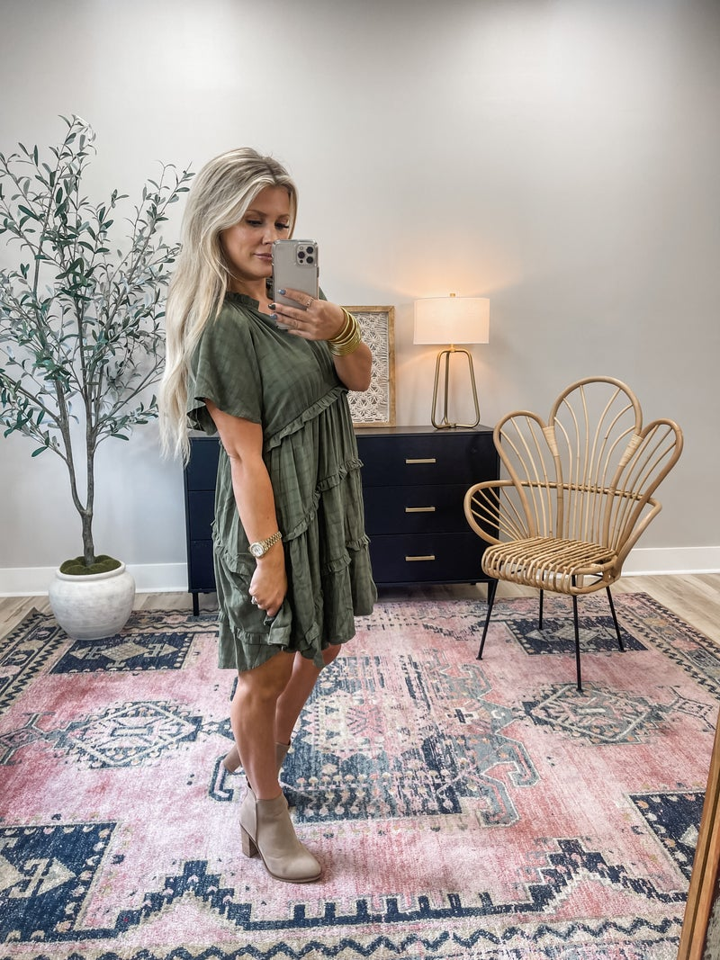 Calling On Fall Dress