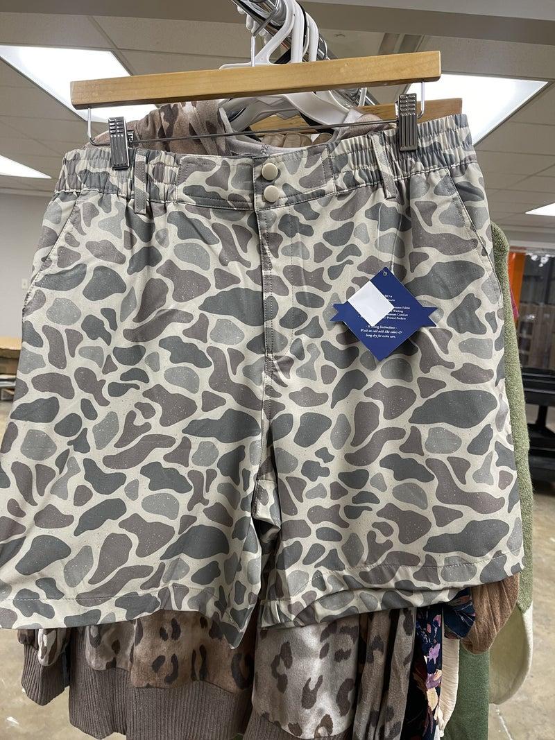 Burlebo Deer Camo Everyday Shorts