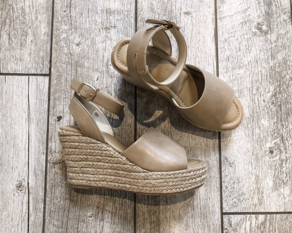 The Best Nude Wedge *Final Sale*
